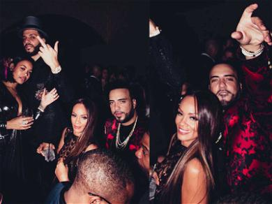 French Montana and Evelyn Lozada Ring in the New Year Together in Vegas