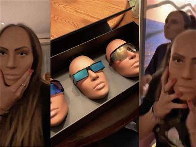 Heidi Klum's Daughters Freak Out Over Kim Kardashian Masks