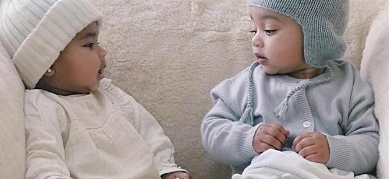 Khloé Posts Adorable Pics of Next 'KUWTK' Generation, True & Chi!