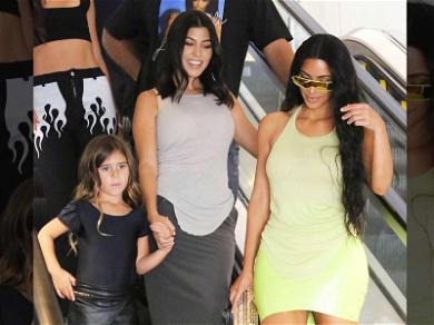 Kourtney Kardashian Gets Retail Therapy With Kim After Younes Bendjima Split