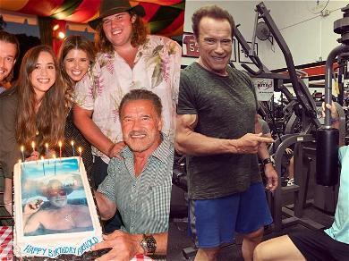 Arnold Schwarzenegger Gets Pumped Up Birthday Messages from His Kids