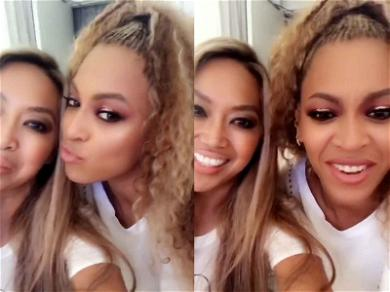 Beyoncé Falls for the Oldest Selfie Trick in the Book, Poses for Pic During Video