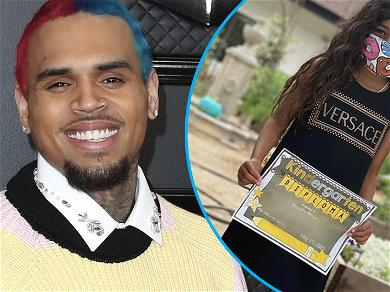 Chris Brown & Nia Guzman's Daughter, Royalty, Graduates Kindergarten!