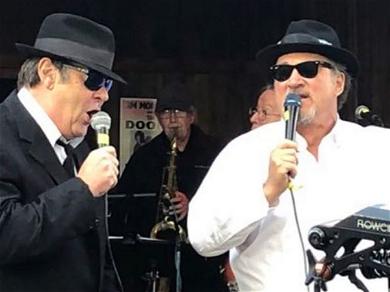Dan Aykroyd & Jim Belushi Bring Back 'The Blues Brothers' for Pot Harvest Party