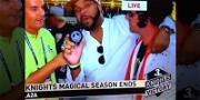 Man Accusing Justin Bieber of Using 'N-Word' Gets TV Cameo After Stanley Cup Finals