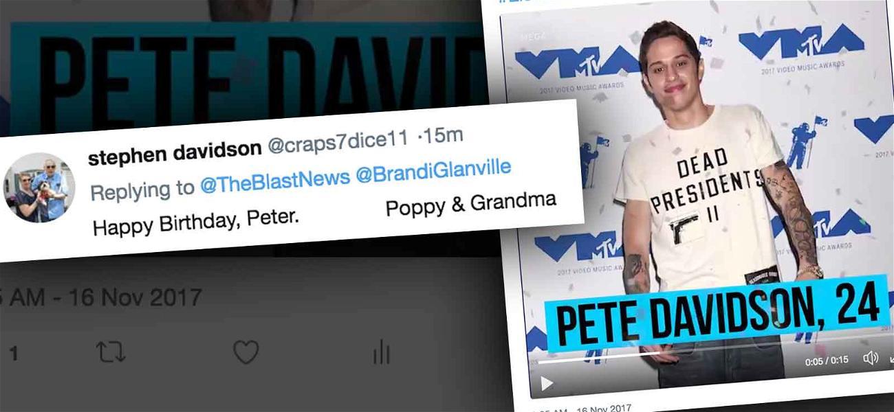 'SNL' Star Pete Davidson Has the Cutest Grandparents Ever!