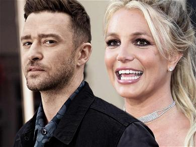 Justin Timberlake Flexes His Muscles After Britney Spears Shout-Out