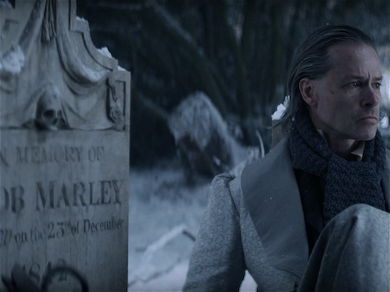 The Tale of Ebenezer Scrooge Gets Dark in FX's 'A Christmas Carol' Movie.