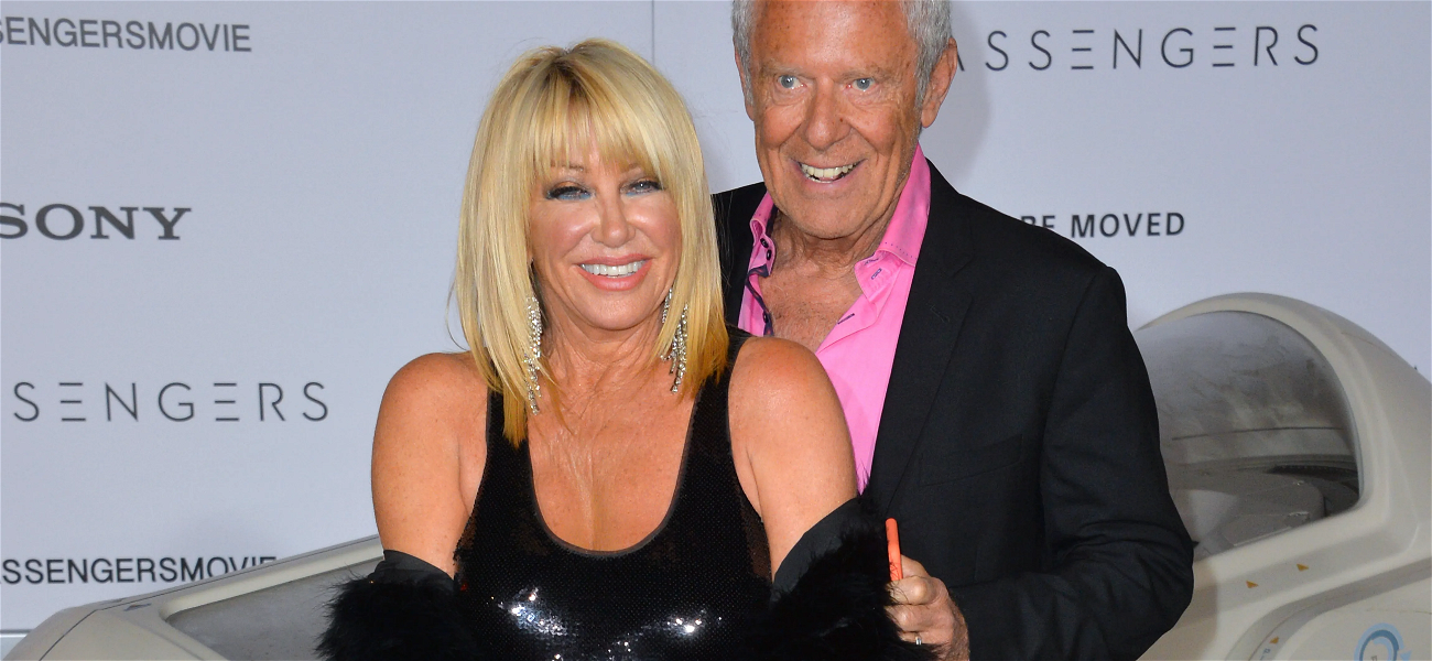 Suzanne Somers Claims She Still Has Sex With 84-Year-Old Husband THREE TIMES A Day!!