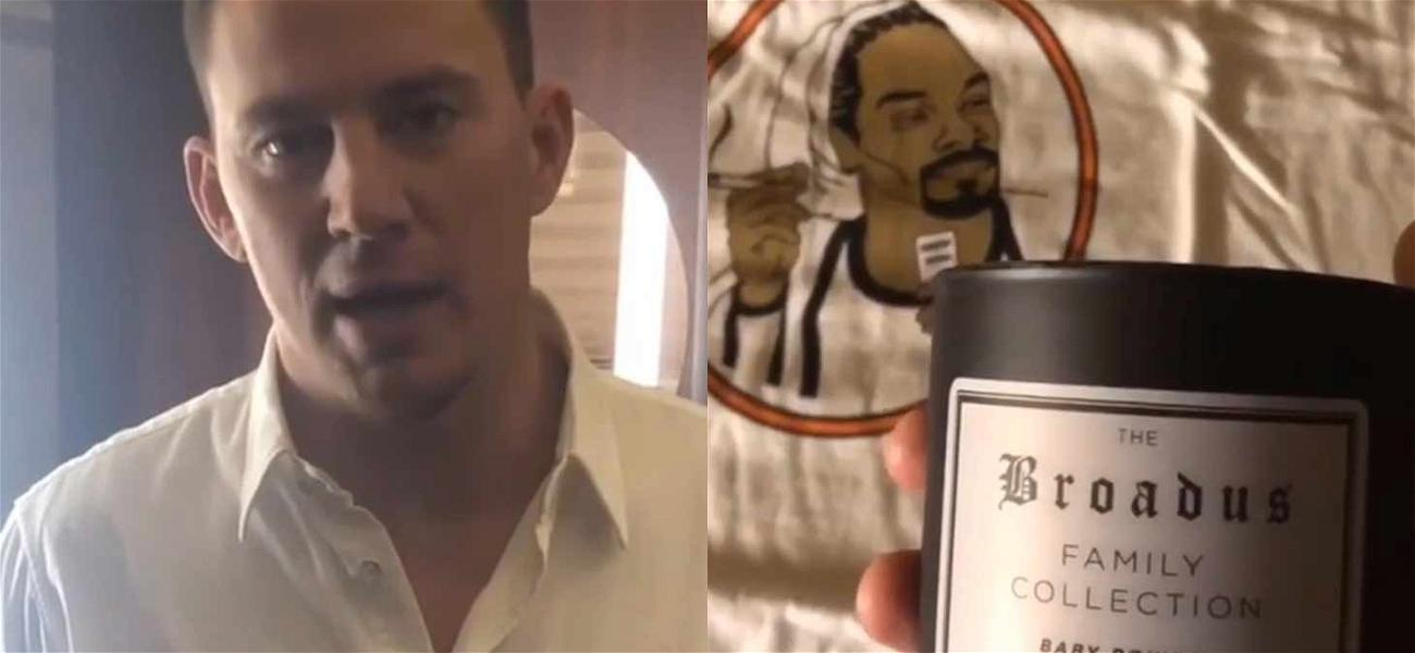 Snoop Dogg Hooks Channing Tatum Up With Fresh Outfit After Awkward Meeting