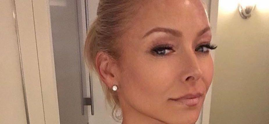 Kelly Ripa Unfussed In Tight Neon Dress Amid Weight Worries