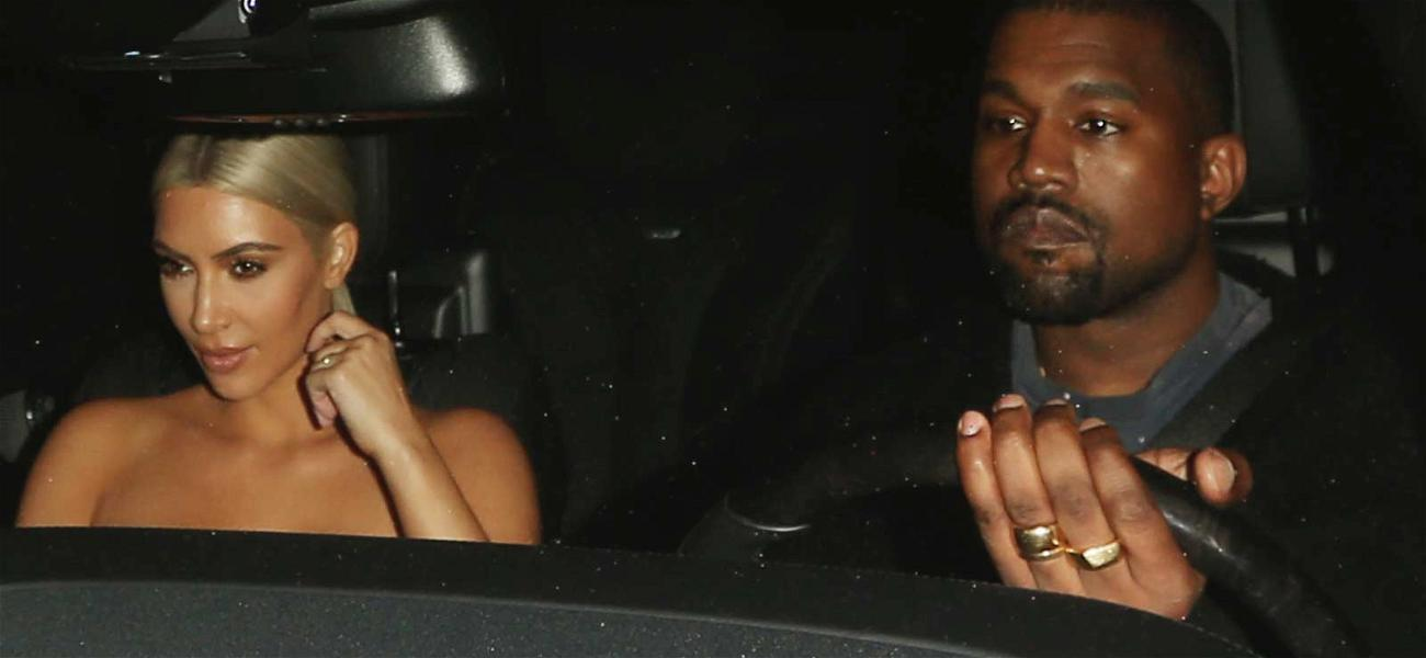 Kim and Kanye Yuk it Up at Dave Chappelle's Stand Up