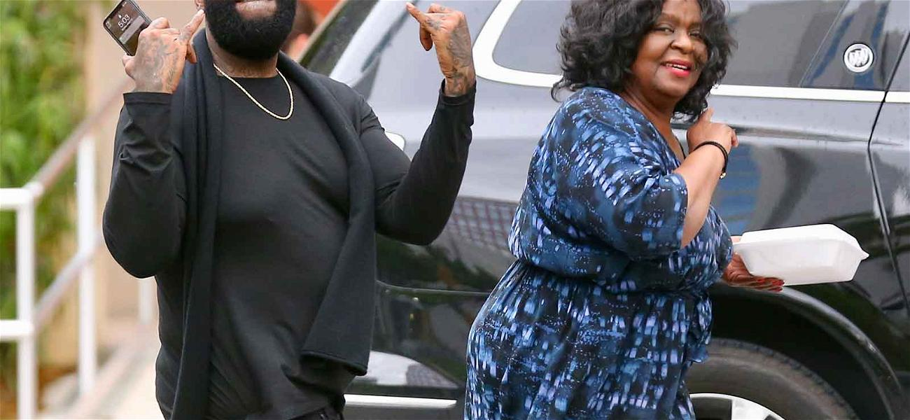 Rick Ross Is the Picture of Health While Out With Mom