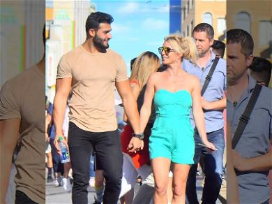 Britney Spears Brings Boyfriend to Happiest Place on Earth