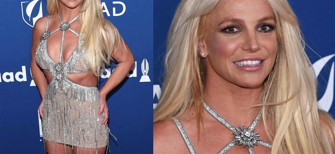 Britney Spears Steals The GLAAD Awards While Accepting Vanguard Award