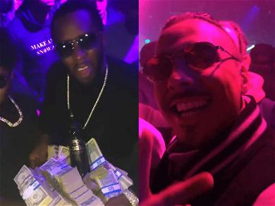 Diddy Takes Justin & Quincy Out for Father/Son Bonding at Strip Club
