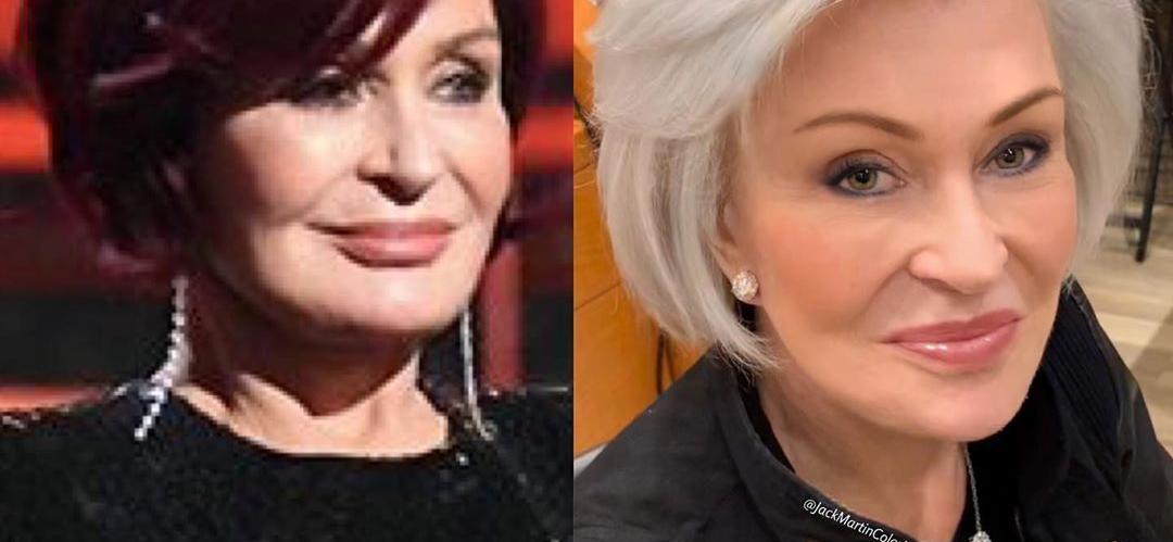 Sharon Osbourne Goes Full-On White For Incredible Hair Transformation