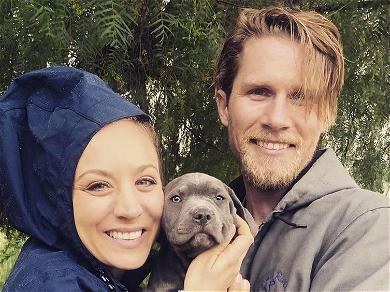 Kaley Cuoco Puts Husband In The Doghouse For Christmas