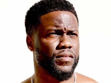 Kevin Hart Shows Off His Massive Back Tattoo In 'Swole On The Yard' Thirst Trap