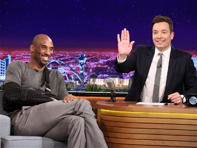 Jimmy Fallon Overcome With Emotion While Sharing A Beautiful Kobe Bryant Story On 'Tonight Show'