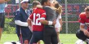 Gisele Bündchen Calls QB Sneak When She Surprises Tom Brady at Practice on Bday