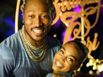 Rapper Future Showers Girlfriend Lori Harvey With Hundreds Of Roses On Valentine's Day