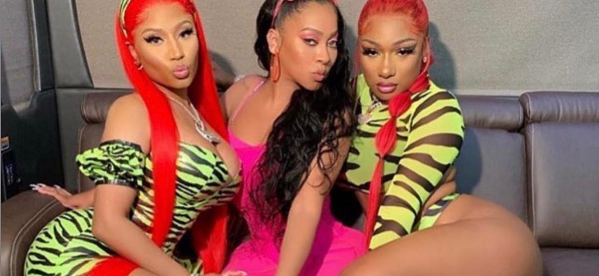 La La Anthony Joins Nicki Minaj and Megan Thee Stallion for Some Hot Girl Summer Action