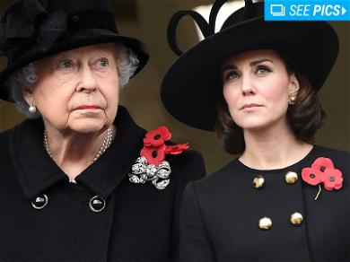 Royal Family Attends Remembrance Sunday in London