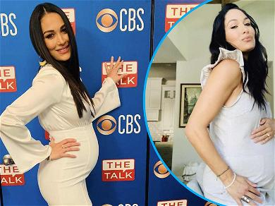 Brie Bella Teases Baby Name Reveal And Shows Off Huge Bump At 26-Weeks