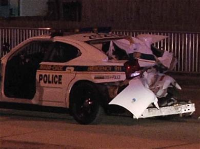 Justin Bieber's Head of Security Crashes Into Police Cruiser, Charged with DUI