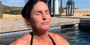 Caitlyn Jenner Gets Wet & Wild With Olympic Medal In Topless Pic