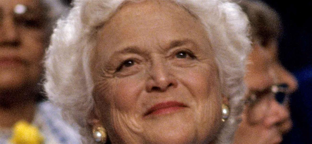 Barbara Bush, Former First Lady, Dead at 92