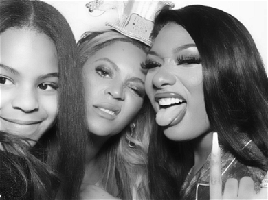Megan Thee Stallion's NYE Snaps With Beyoncé And Blue Ivy Cause Major Controversy