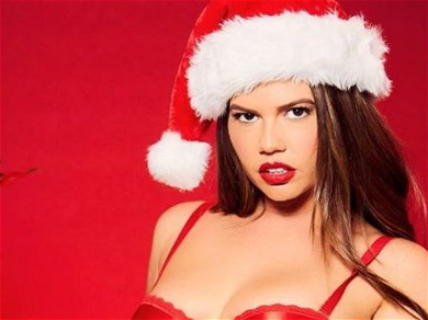Chanel West Coast Makes Santa's Naughty List In Candy Cane Thong