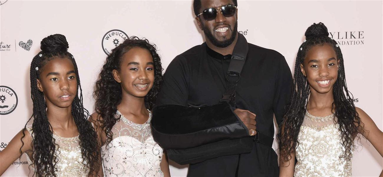 Diddy Attends Event With His Daughters Ahead of First Mother's Day Without Kim Porter