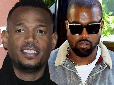 Marlon Wayans Slammed For Poking Fun At Kanye West's Mental Health