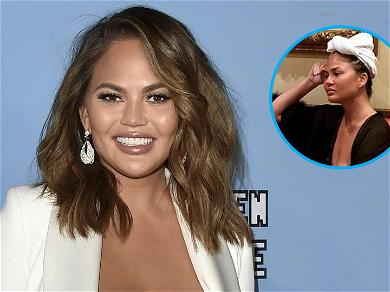 Chrissy Teigen Teases Instagram With Risqué Pic: 'It's Not A Nip'