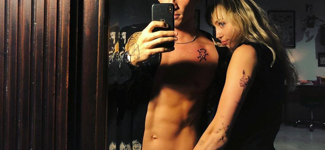 Miley Cyrus and Cody Simpson Ink The Deal With Couples Tattoos