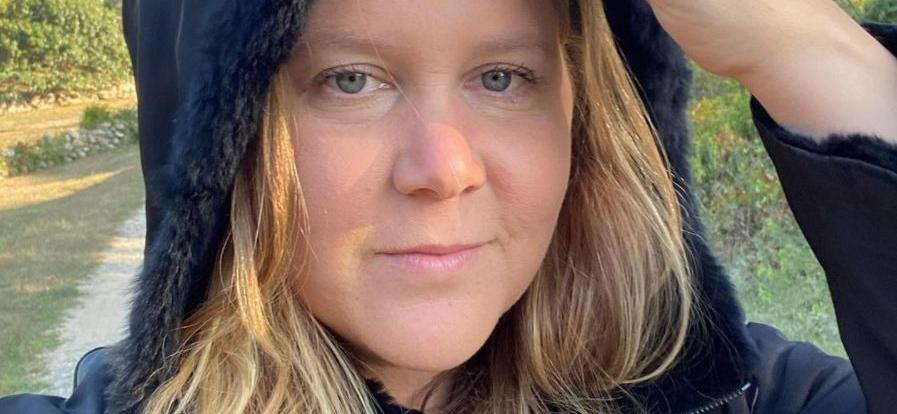 Amy Schumer Shares A Nudie Showing Off C-Section Scar