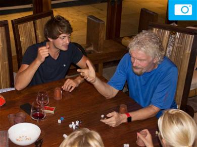 Richard Branson Hunkered Down as Hurricane Irma Hammered the British Virgin Islands