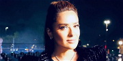 Salma Hayek Sneakily Takes Credit For Ariana Grande's Iconic High Ponytail