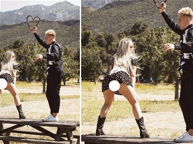 Warning ⚠️YouTubers Jake Paul and Tana Mongeau's Engagement Pics Are NSFW