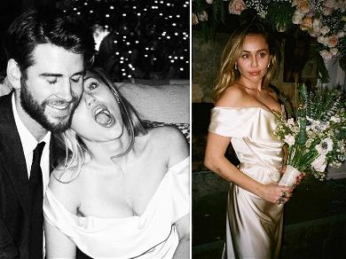 Liam Hemsworth Opens Up About Wedding As Miley Cyrus Shows Never-Before-Seen Photos From Ceremony