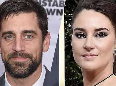 Aaron Rodgers And Shailene Woodley Are Reportedly The New It Couple!