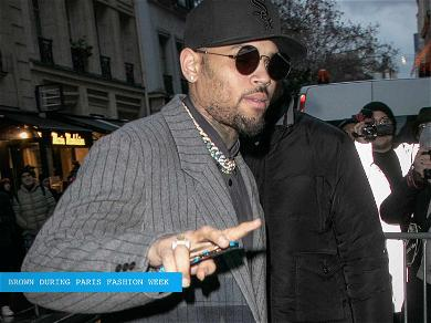 Chris Brown Detained in Paris on Allegations of Rape