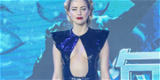 Amber Heard Goes Shirtless After Getting Trashed By Own Fans For 'Hitting' Johnny Depp With Pots & Pans