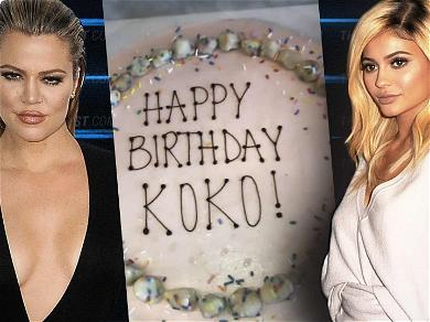 Fans Think Kylie Jenner is Overheard Saying 'I'm Pregnant' in Khloé's Birthday Video