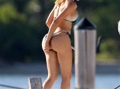 Farrah Abraham Gets Cozy With Personal Trainer During Yacht Day
