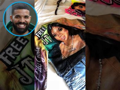 Drake Shows Off 'Free JT' Shirts Ahead Of 'In My Feelings' Dropping
