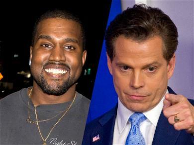 Kanye West Secretly Texting Anthony Scaramucci During Conservative Tweetstorm